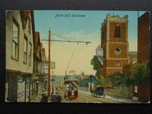 Essex COLCHESTER North Hill c1909 Postcard by Valentine