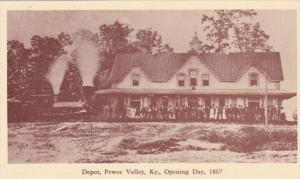 Kentucky Pewee Valley The Depot Opening Day 1867