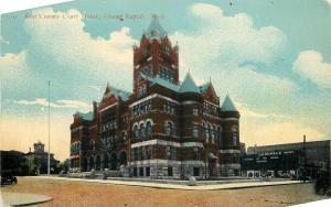 Grand Rapids Michigan~Kent County Court House~Clark's~Dupree Buffet~1910