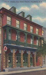 CHARLESTON , South Carolina , 1930-40s ; Dock Street Theatre