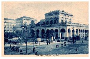 Italy Napoli , Stazione Ferroviaria