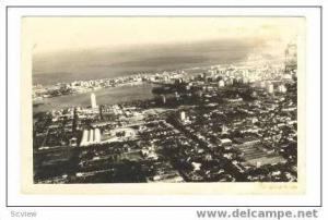 RP Aerial view of Recefi, Brazil, PU 1962