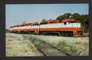 TX St Louis San Francisco Railroad FRISCO IRVING TEXAS