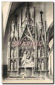 Old Postcard Kaysersberg Sorrowful Virgin in & # 39autel fourteen auxiliary