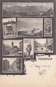 *-view Postcard ,  INNSBRUCK , Austria , PU-1903