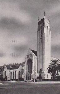 Exterior,First Methodist Church, Hollywood,California,PU-40-60s