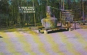 Georgia Glennville A Real All Copper Still