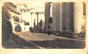 San Francisco CA Palace of Fine Arts P.P.I.E #24 Special Stamp RPPC Postcard