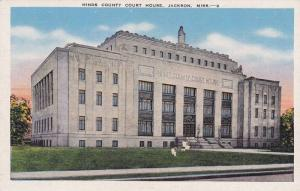 Exterior,  Hinds County Court  House,  Jackson,  Mississippi,    30-40s