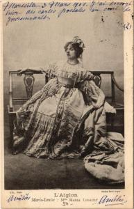 CPA MARIE LOUISE: MARIA LEGAULT THEATER STAR (12487)