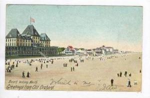 Beach Looking North, Greetings From Old Orchard, Maine, PU-1905