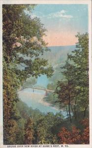 West Virginia Hawk's Nest Bridge Over New River At Hawk's Nest