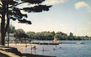 Gull Lake Park , Gravenhurst , Muskoka , Ontario , Canada , 40-60s SHELL & Co...
