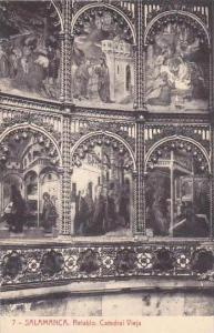 Spain Salamanca Retablo Catedral Vieja