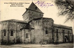 CPA St-MAURICE en Gencay - Église Paroissiale (365641)