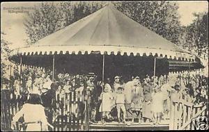 netherlands, ROTTERDAM, Kermis Funfair, Merry-go-Round (1910s)