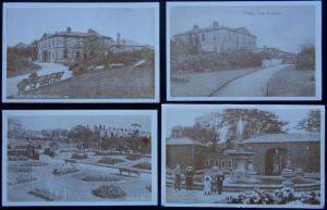 Yorkshire Collection 4 x ROCHDALE Views (c1908 Reproduction) Postcard