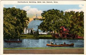 MI - Detroit. Belle Isle, Horticultural Building