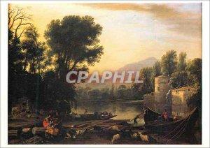 Modern Postcard Paris Grand Palais exhibition Claude Lorrain Lorrain says Feb...