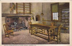 Virginia Mount Vernon Martha Washingtons Kitchen