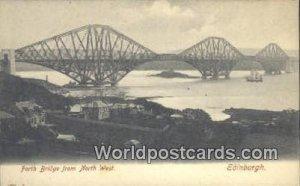 Forth Bridge Edinburgh Scotland, Escocia Unused