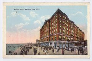 Atlantic City NJ Hotel Alamac Vintage Postcard