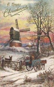 E.Longstafe. In the depth of winter. Horses TuckOilette PC  # 9421