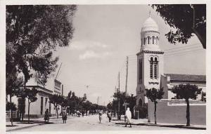 Kairouan (Arabic القيروان) , 30-50s Vue de la Ville Europeenne, l'Eglise