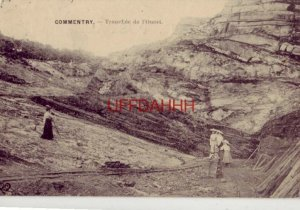 FRANCE. COMMENTRY - TRANCHEE DE L'OUEST 1908