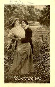 Romantic Couple  Don't Go Yet