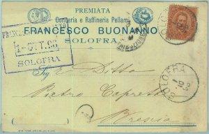 97851 - CARTOLINA d'Epoca -  AVELLINO Provincia -  SOLOFRA Pubblicitaria 1896