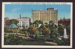 King Square,Admiral Betty Hotel,Saint John,NB,Canada