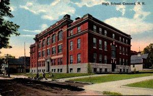 New Hampshire Concord High School Curteich