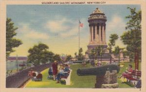 Soldiers And Sailors Monument New York City New York