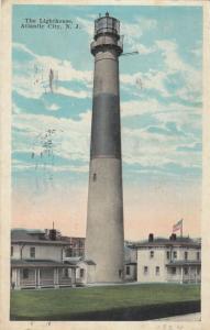 ATLANTIC CITY, New Jersey , PU-1924 ; The Lighthouse