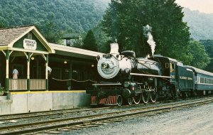 Trains -   The Alleghany Central Scenic Railway at Intervale, VA (mary jaynes...