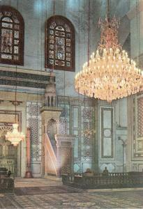 Middle East Syria Damas Damascus Pulpit in the Grand Mosque Interior