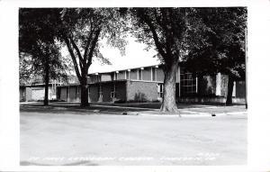 Sheldon Iowa~St Paul Lutheran Church~1950s Real Photo Postcard~RPPC