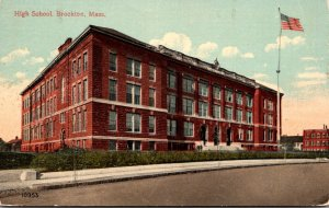 Massachusetts Brockton High School 1915