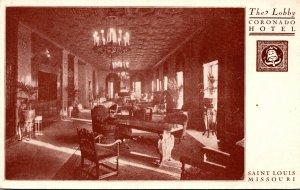 Missouri St Louis The Coronado Hotel The Lobby