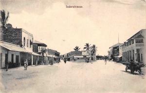 German East Africa Tanzania Dar-Es-Salaam Inderstrasse