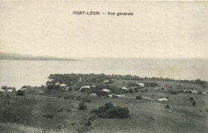 PC CPA PAPUA NEW GUINEA, PORT LÉON, VUE GENERALE, Vintage Postcard (b19785)