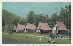 LAKE GEORGE, New York, 1948; Chalet Cottages, Hotel Antlers