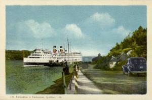Steamer, S. S. Tadoussac A Tadoussac, Quebec, Canada, 1910-1920s