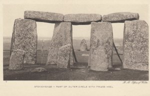 STONEHENGE , Wiltshire , England , 1900-10s ; Part of Outer Circle