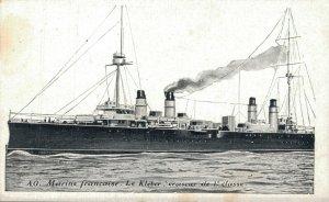 Nautica Marine francaise Le Kléber croiseur de 1e classe 03.29