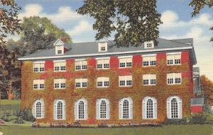 Plymouth New Hampshire~Reeds Dormitory~Lamson Library~ Teachers College~1940