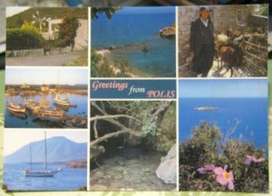 Cyprus Greetings from Polis Multi-view - unposted