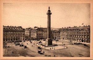 France Paris La place Vendome