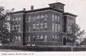 RP: DEVILS LAKE, North Dakota, 1950s; High School